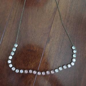 Pink Ombré adjustable necklace